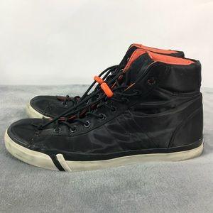 Pro Keds Royal Plus Black Nylon High Top Sneakers